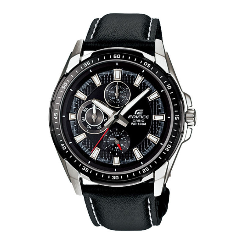 Casio Edifice Multi-Hand EF-336L-1A1 Watch (New With Tags)