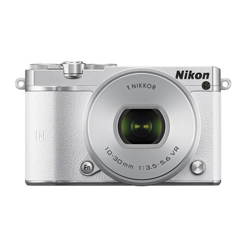 Nikon 1 J5 with 10-30mm White Mirrorless Digital Camera