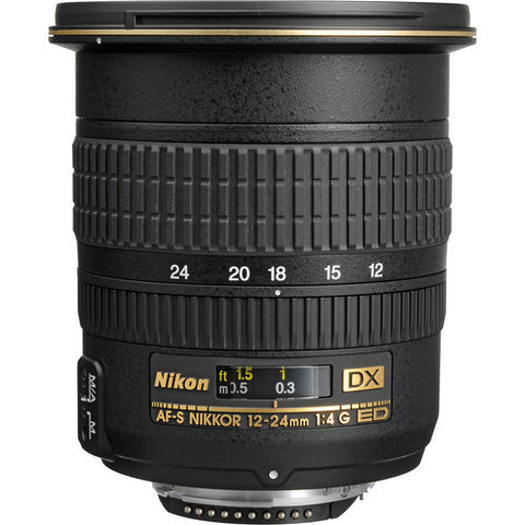 Nikon AF-S DX Zoom-Nikkor 12-24mm f4G IF-ED Lens