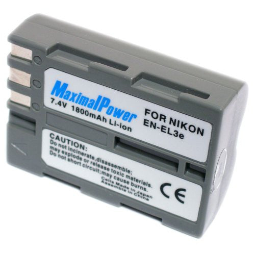 Maximal Power (Nikon) EN-EL3E Generic Battery