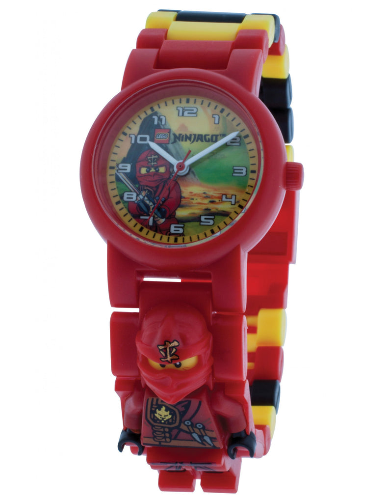 Lego Ninjago Jungle Ninja Kai Minifigure Link 8080134 Watch (New with Tags)