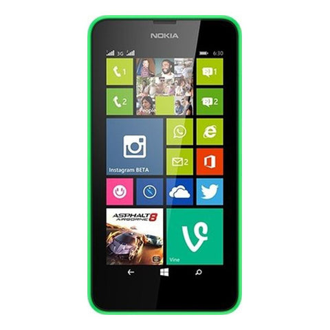 Nokia Lumia 630 8GB 3G Bright Green Unlocked