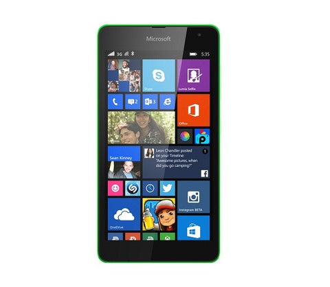 Nokia Lumia 535 Dual 8GB 3G Green Unlocked