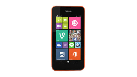 Nokia Lumia 530 4GB 3G Bright Orange Unlocked
