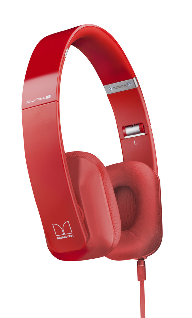 Nokia Purity by Monster HD Stereo Headset WH-930 (Red)