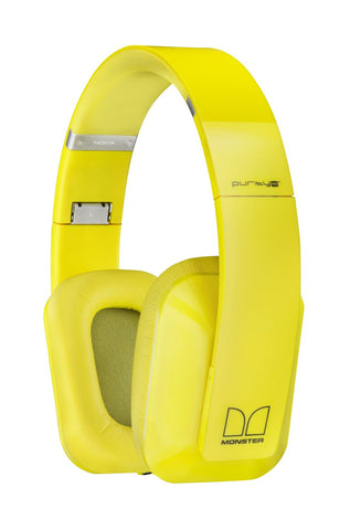 Nokia Purity by Monster HD Stereo Headset WH-930 (Yellow)