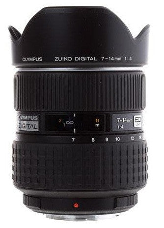 Olympus Zuiko Digital ED 7-14mm 1:4.0 Black Lens