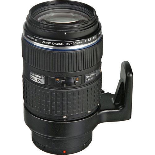 Olympus Zuiko Digital ED 50-200mm 1:2.8-3.5 SWD Super Telephoto Black Lens
