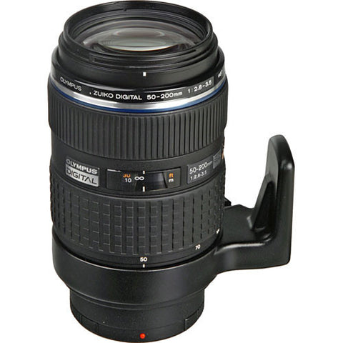 Olympus Zuiko ED 50-200mm f/2.8-3.5 SWD Super Telephoto Black Lens