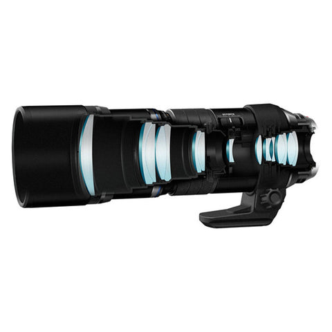 Olympus M.Zuiko Digital ED 300mm f/4 IS PRO Black Lens