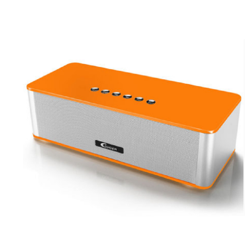 Generic Bluetooth Speaker Mini Subwoofer (Orange)