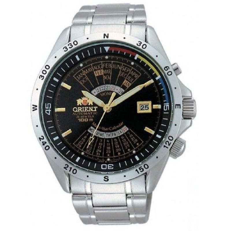 Orient Perpetual SEU03002BW (FEU03002B, EU03002B) Watch (New with Tags)