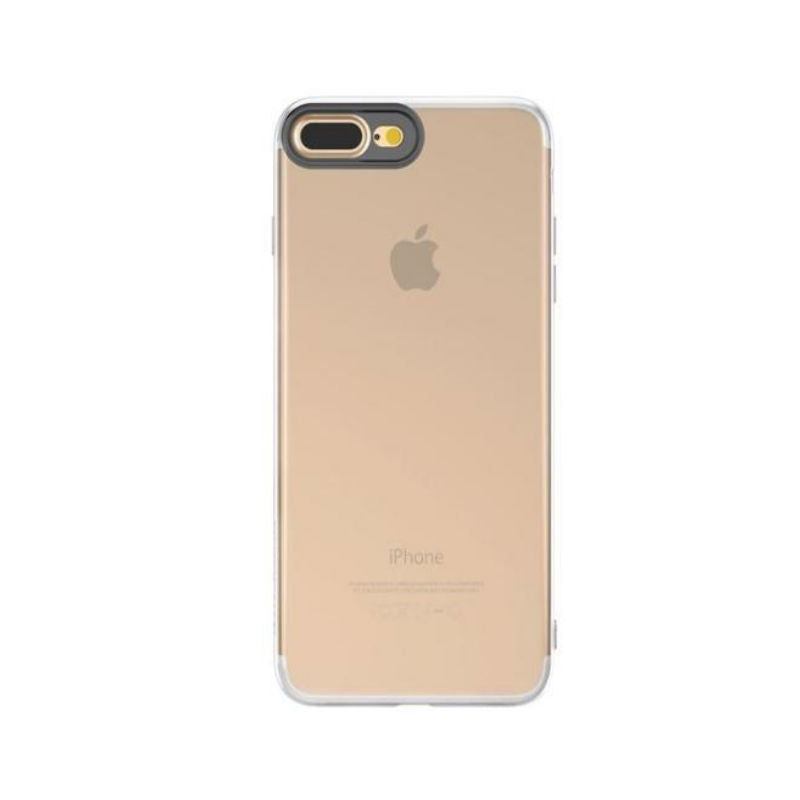 Soft Shell Drop Resistance Case for iPhone 7 Plus (Transparent)