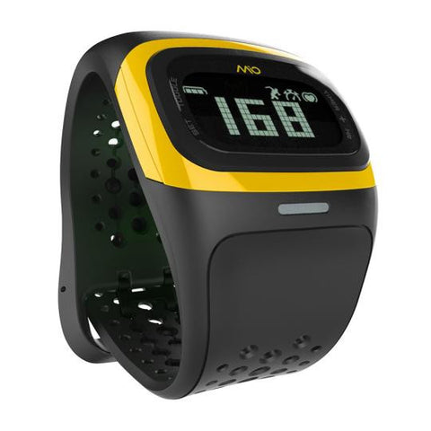 Mio Alpha 2 Heart Rate Sport Watch Yellow