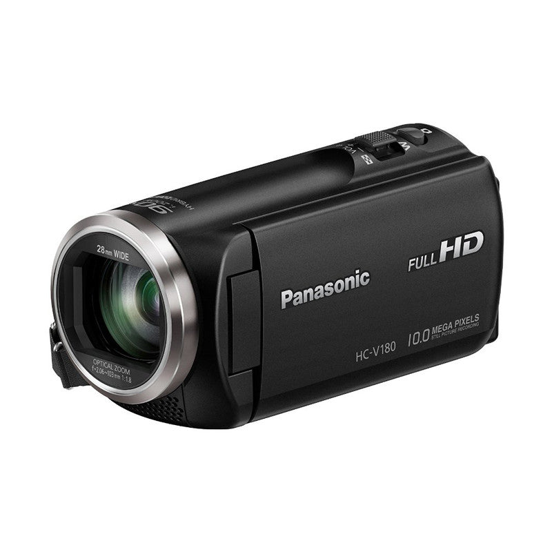 Panasonic HC-V180 Full HD Camcorder (Black)