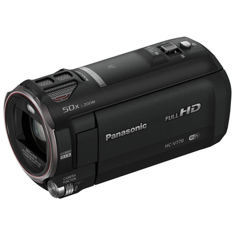Panasonic HC-V770 Full HD Camcorder (Black)