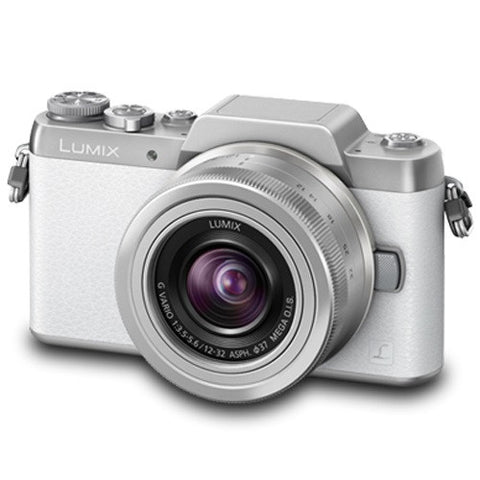 Panasonic Lumix DMC-GF7W with 12-32mm and 35-100mm White Digital Camera