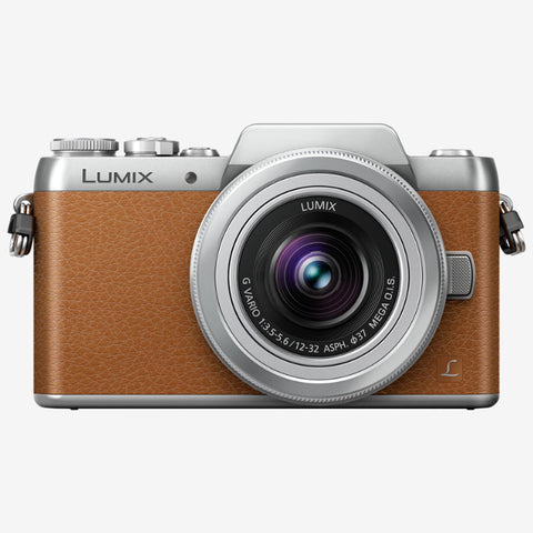 Panasonic Lumix DMC-GF8K with 12-32mm Kit Lens (Brown Silver)