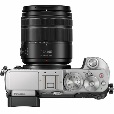 Panasonic Lumix DMC-GX8 with 14-140mm Silver Mirrorless Digital Camera