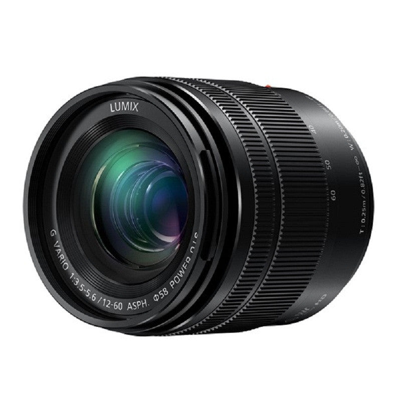 Panasonic Lumix G Vario 12-60mm f/3.5-5.6 ASPH Power OIS Black Lens