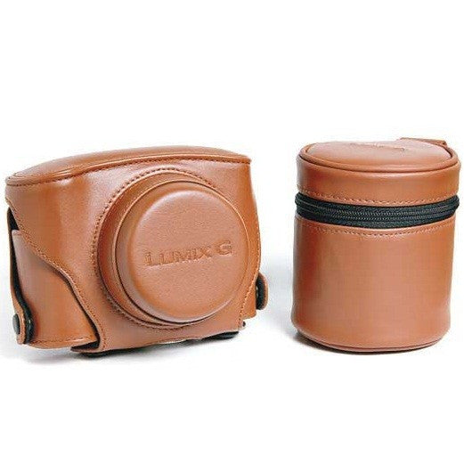 Panasonic PS-463-T Original Leather & Lens Case