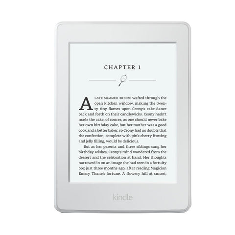 Amazon Kindle 6 inch with 300ppi 4GB Wi-Fi New Version (White)