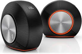 JBL Pebbles Stereo Computer System Black