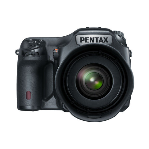 Pentax 645Z Kit with 55mm F2.8 Lens Black Digital SLR Camera