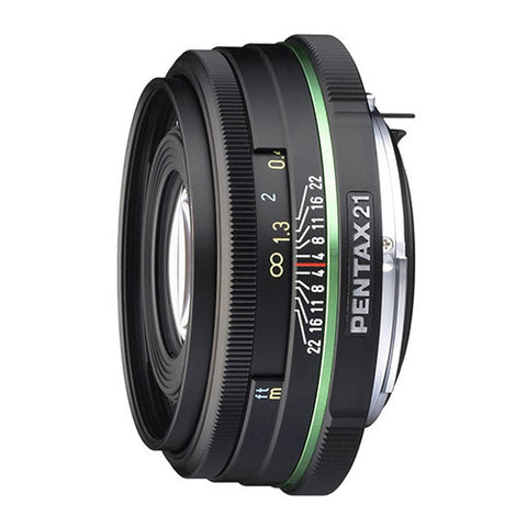 Pentax smc DA 21mm f3.2 AL Black Limited Lens