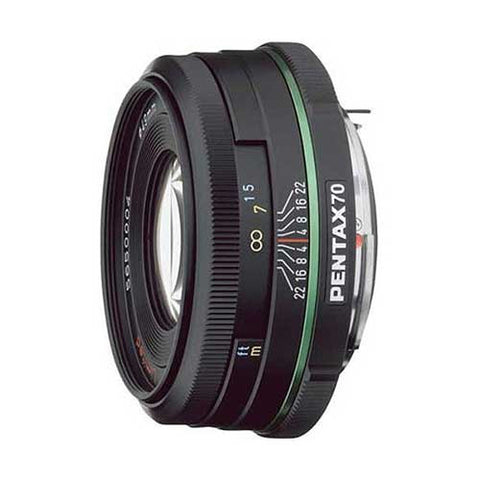 Pentax smc DA 70mm f2.4 AL Black Limited Lens
