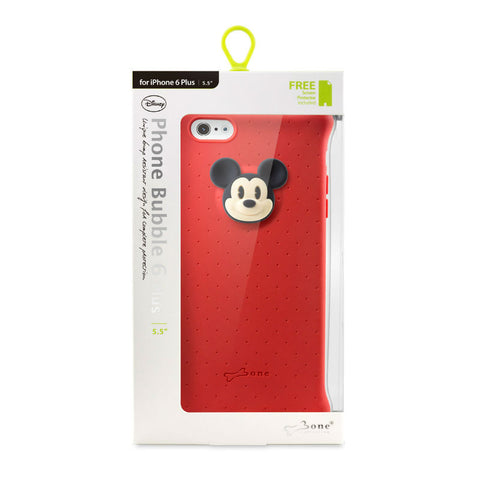 Bone Collection Mickey PH14081-MIK Phone Bubble 6 Plus Case