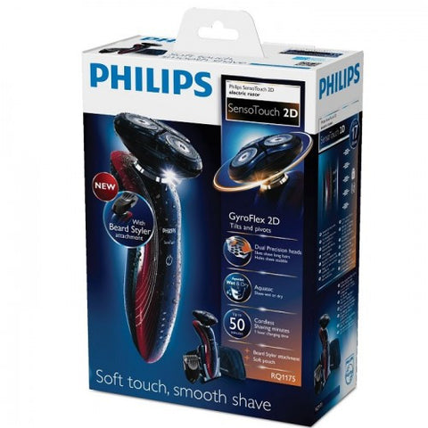 Philips SensoTouch RQ1175/17 Electric Rechargeable Shaver