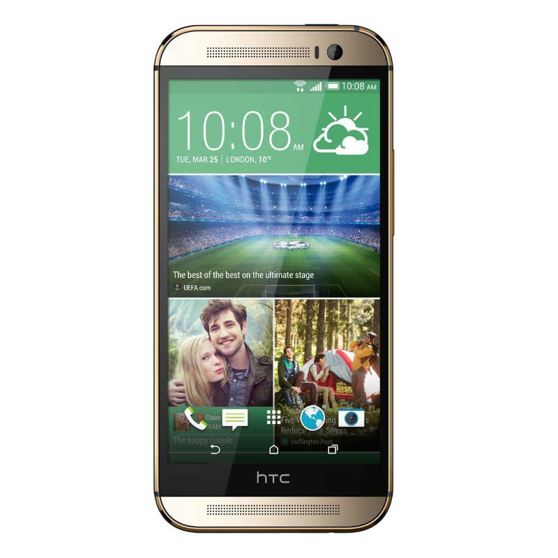 HTC One M8X 16GB 4G LTE Gold Unlocked