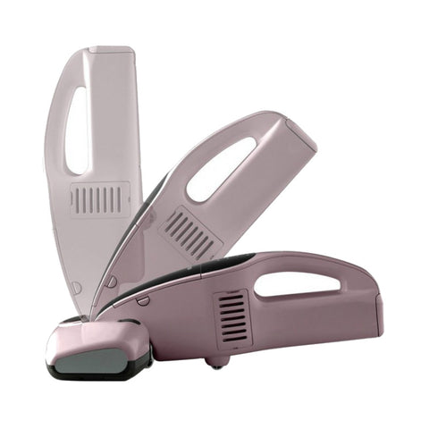 Iris Ohyama IC-FDC1 Cordless Bed Cleaner (Pink)