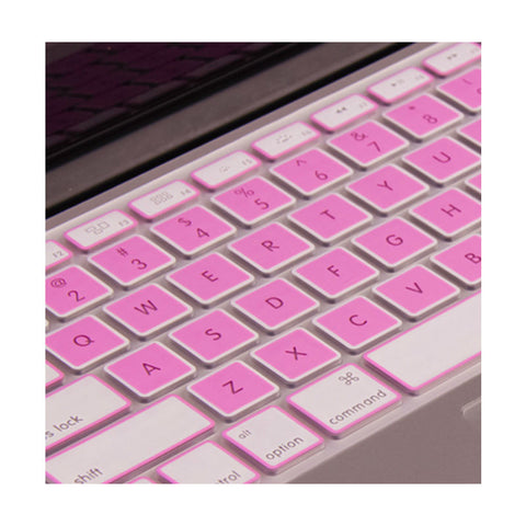 Keyboard Protection Membrane 15 Inch for Macbook Air Retina13 (Pink)