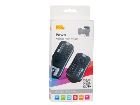 Pixel Pawn Wireless Shutter Flash Remote Control for Nikon