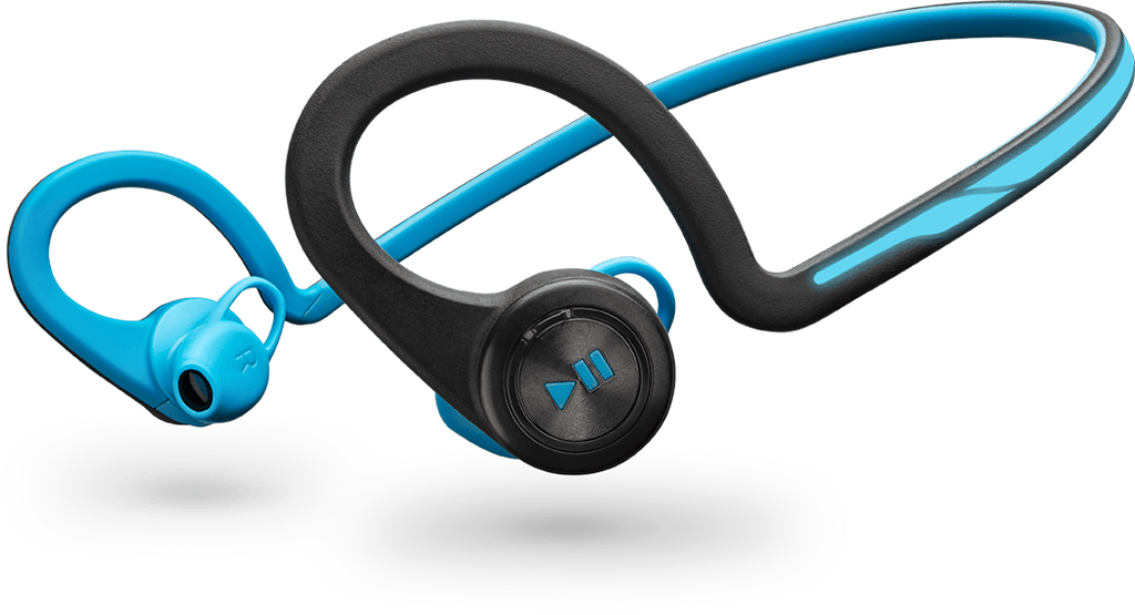 Plantronics BackBeat Fit Wireless Stereo Headset with Microphone (Blue)