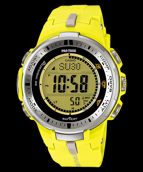 Casio Pro Trek Digital PRW-3000-9B Watch (New with Tags)