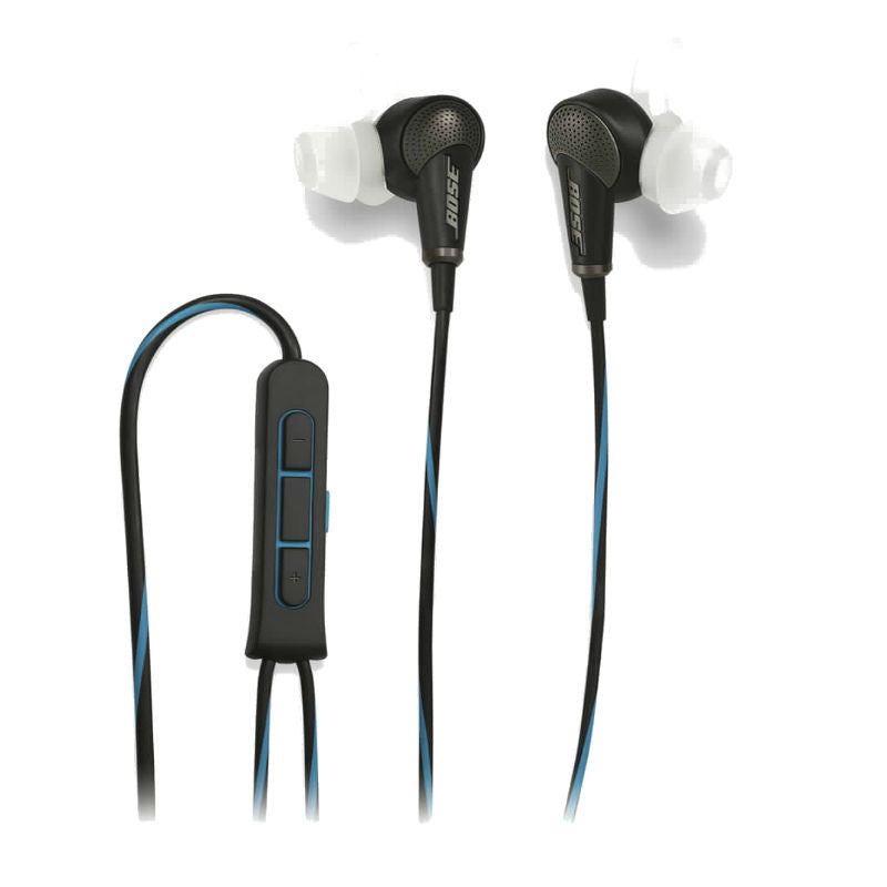 Bose QuietComfort 20 (QC20) Acoustic Noise Cancelling Headphones for iPhone (Black)
