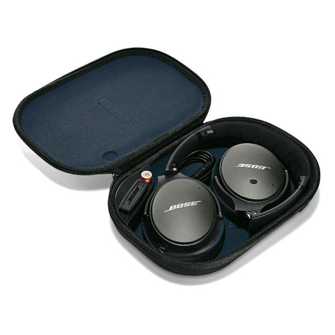 Bose QuietComfort 25 (QC25) Acoustic Noise Cancelling Headphones for iPhone (Black)