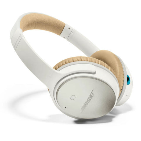 Bose QuietComfort 25 (QC25) Acoustic Noise Cancelling Headphones for iPhone (White)