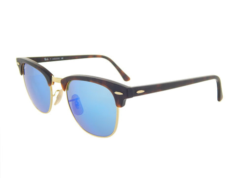 Ray-Ban RB3016 Clubmaster 114517 (Size 49) Sunglasses