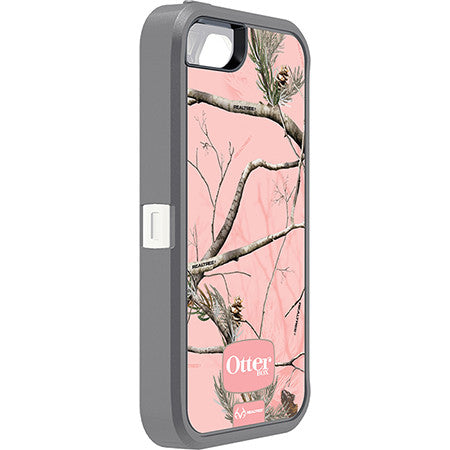 OtterBox Defender Series for IPhone 5S RealTree Case AP Pink