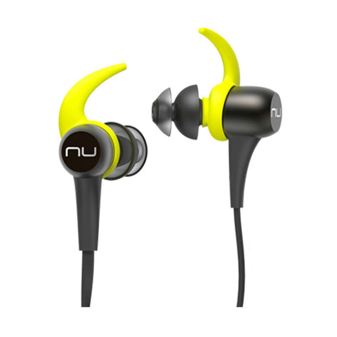 NuForce BE Sport3 Wireless Bluetooth In-Ear Headphones (Gunmetal)