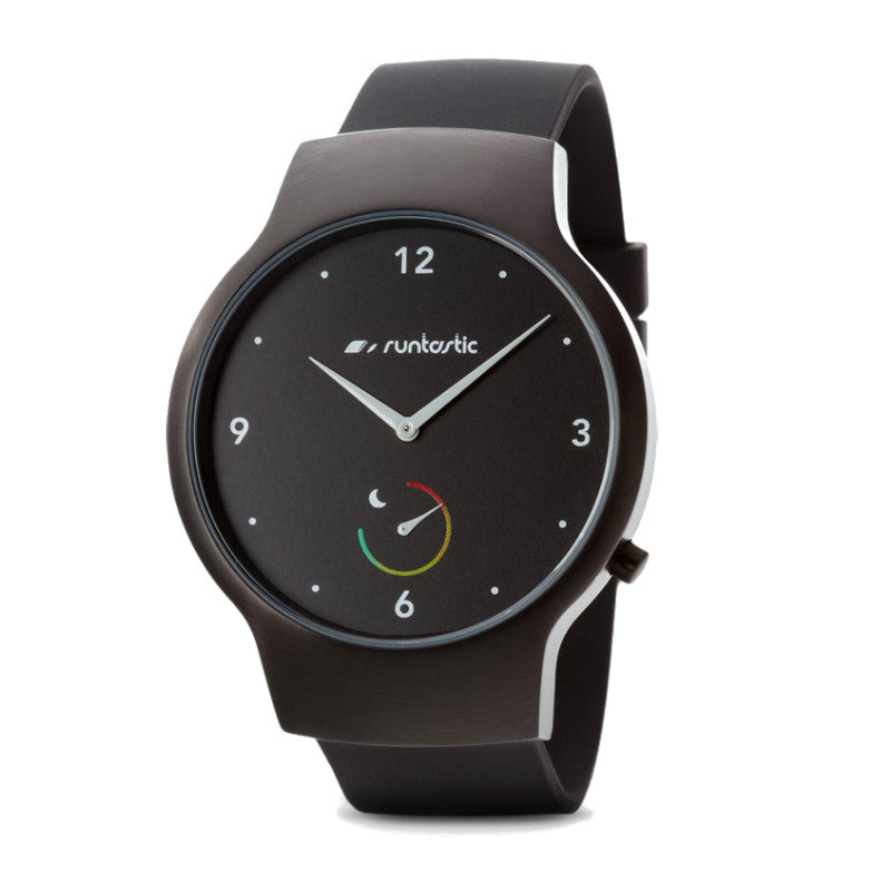 Runtastic RUNMOBA1 Moment Basic Watch (Black)