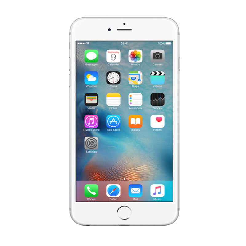 Apple iPhone 6 Plus 128GB 4G LTE Silver Unlocked (Refurbished - Grade A)