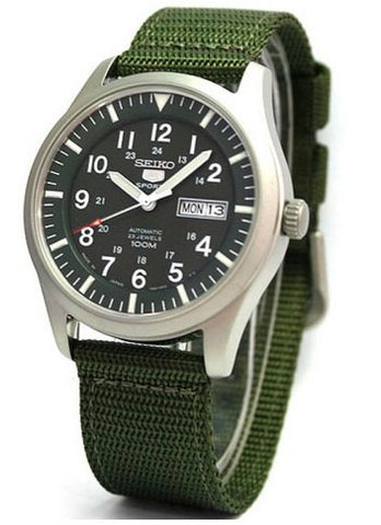 Seiko Military Automatic Sport SNZG09 Watch (New with Tags)