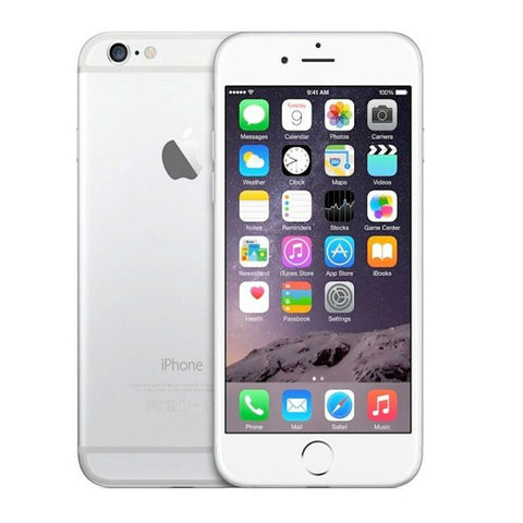Apple iPhone 6 64GB 4G LTE Silver Unlocked (Refurbished - Grade A)