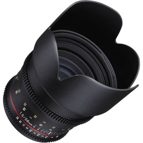 Samyang 50mm T1.5 VDSLR AS UMC Lens (Canon)