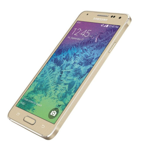 Samsung Galaxy Alpha 32GB 4G LTE Frosted Gold (SM-G850f) Unlocked